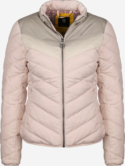 G-Star RAW Daunenjacke ' Alaska ' in beige / dunkelbraun / pink, Produktansicht