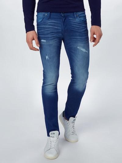 JACK & JONES Kavbojke 'Glenn Fox' | modra barva, Prikaz modela