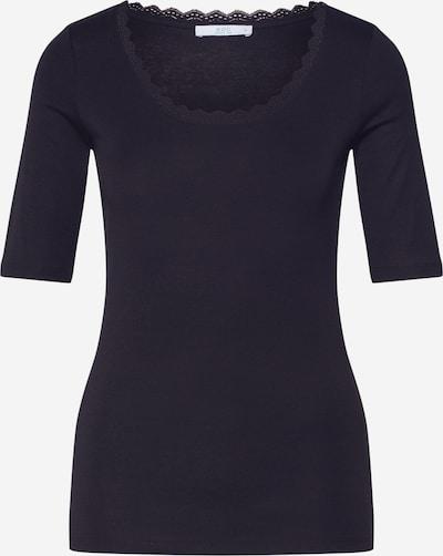 EDC BY ESPRIT Shirt 'CORE FLOW OCS' in schwarz, Produktansicht