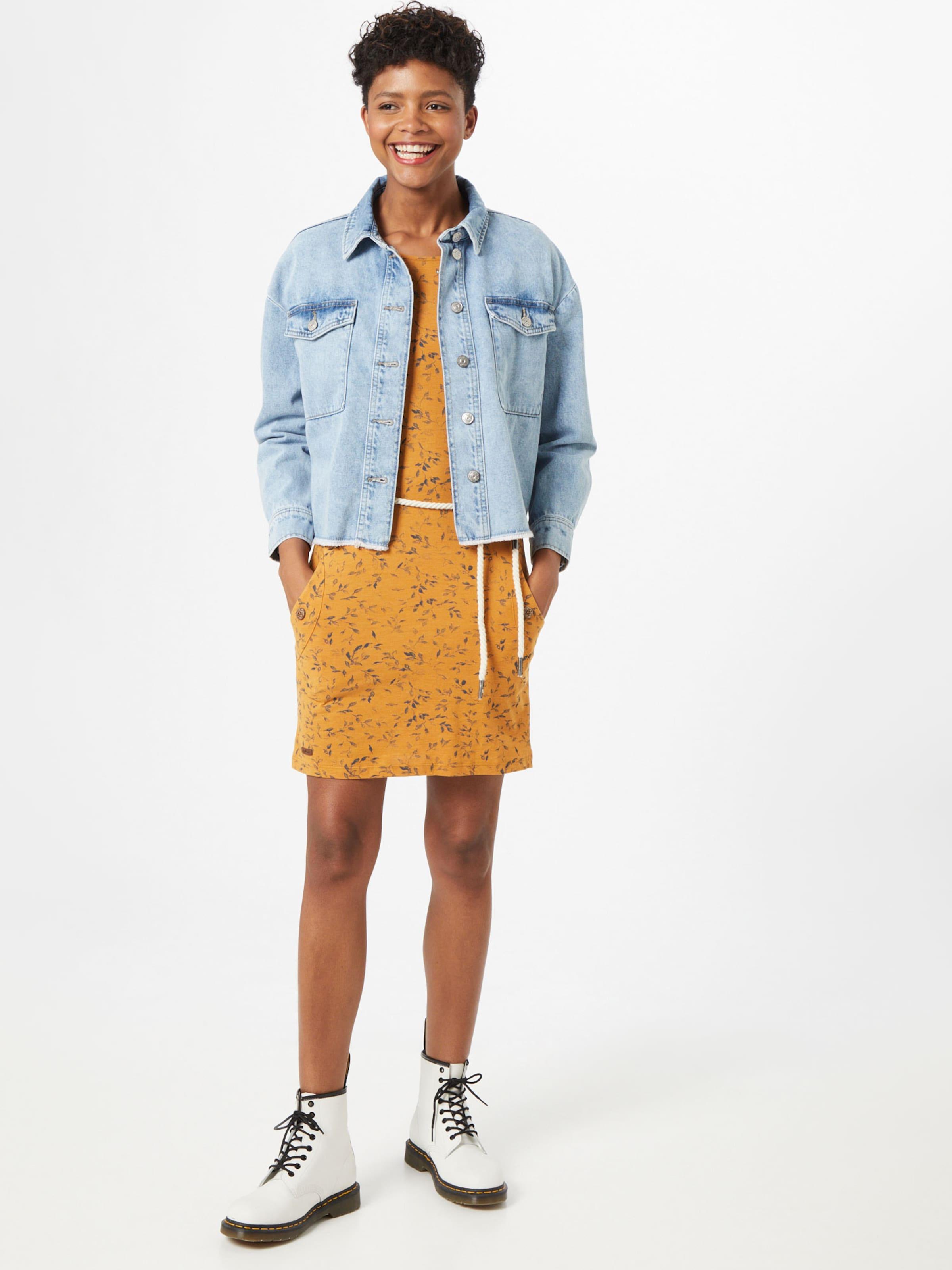 Ragwear Klänning 'Tanya' i curry / grå