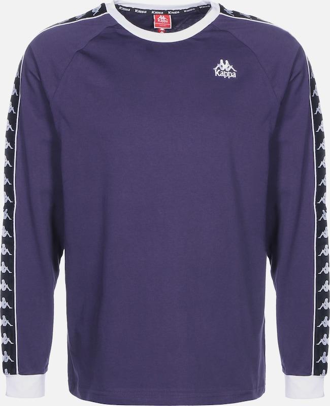 KAPPA Langarmshirt 'Auyen' in lila   schwarz   weiß  Neuer Aktionsrabatt