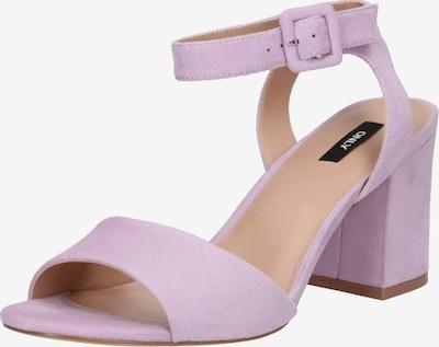 ONLY Sandalen in lila / lavendel, Produktansicht