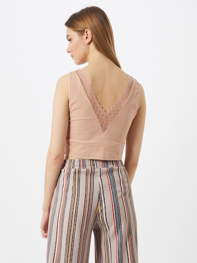 ABOUT YOU Top 'Branka' in beige / nude / rosa: Frontalansicht