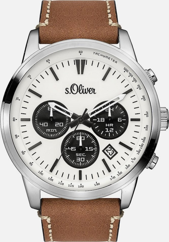 s.Oliver RED LABEL Chronograph 'SO-3335-LC'