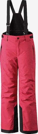 Reima Skihose 'Wington' in rot / schwarz, Produktansicht