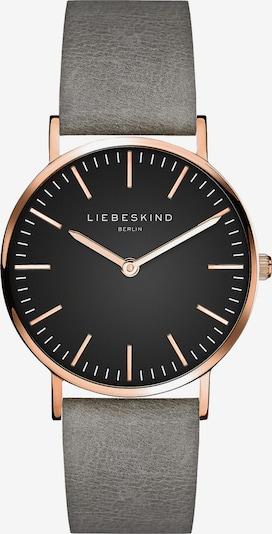 Liebeskind Berlin Analoog horloge in de kleur Rose-goud / Grijs / Zwart, Productweergave