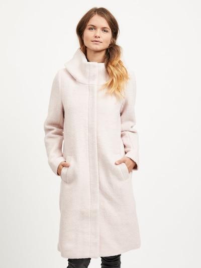 OBJECT Přechodný kabát - růžová, Model/ka