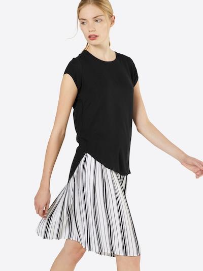 VERO MODA Shirt 'Boca' in schwarz: Frontalansicht