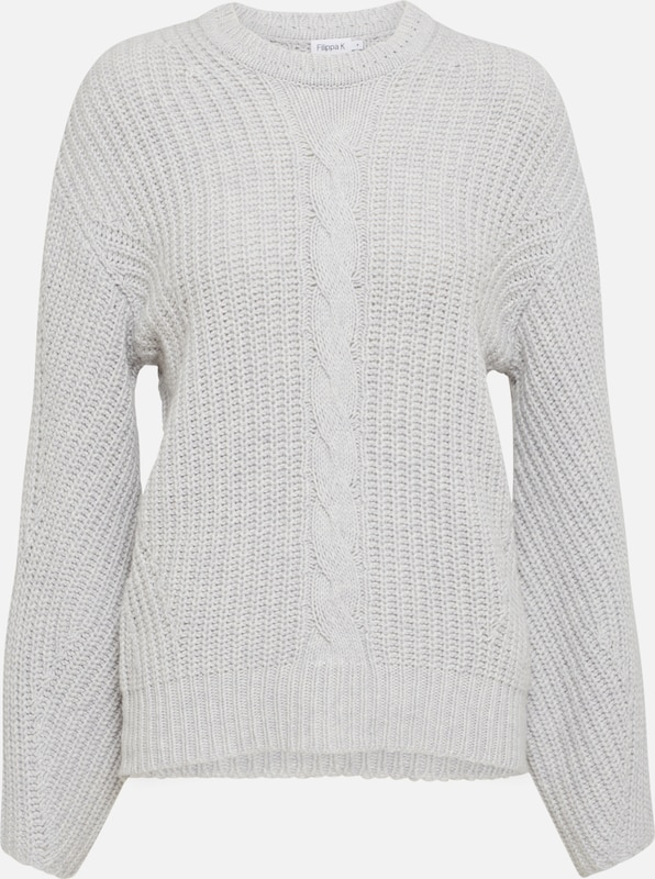K Gris Filippa Pull over En Clair kOP80nw