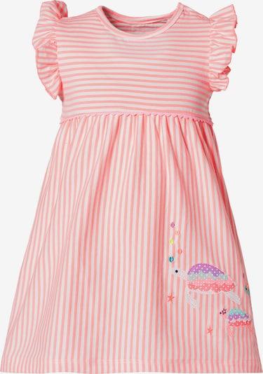 STACCATO Kleid in mischfarben / altrosa / weiß, Produktansicht