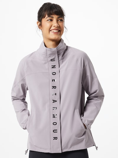 UNDER ARMOUR Jacke 'Recover' in lila, Modelansicht