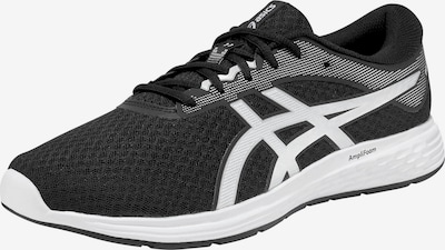 ASICS Laufschuhe 'PATRIOT 11' in schwarz / weiß, Produktansicht