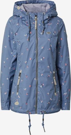 Ragwear Funkčná bunda 'ZUZKA' - modrosivá / zmiešané farby, Produkt