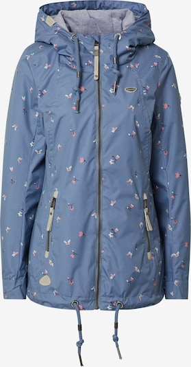 Ragwear Jacke 'ZUZKA' in taubenblau / mischfarben, Produktansicht