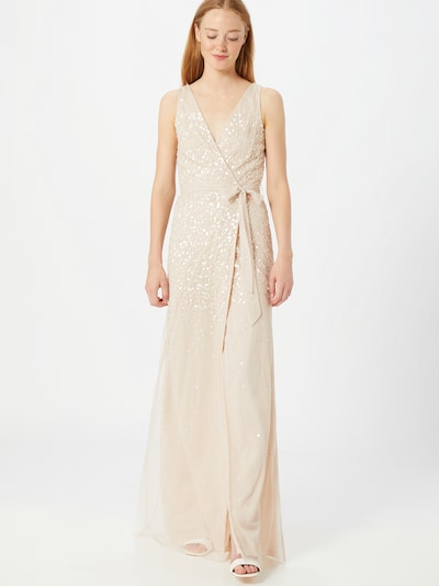 Frock and Frill Kleid in nude / gold / rosé, Modelansicht