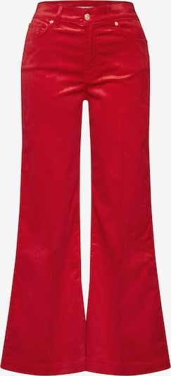 7 for all mankind Broek 'LOTTA' in de kleur Rood, Productweergave