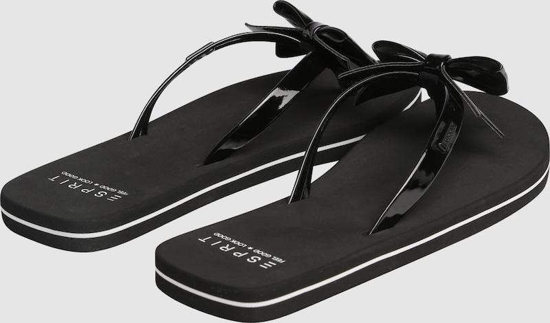 Haltbare Mode billige Schuhe ESPRIT ESPRIT ESPRIT   Zehentrenner 'Doro Bow' Schuhe Gut getragene Schuhe 5f99bf