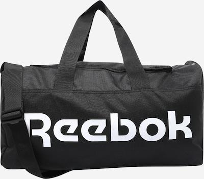 REEBOK Sportovní taška 'ACT CORE S GRIP' - černá / bílá, Produkt