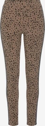 BUFFALO Leggings in beige / schwarz, Produktansicht
