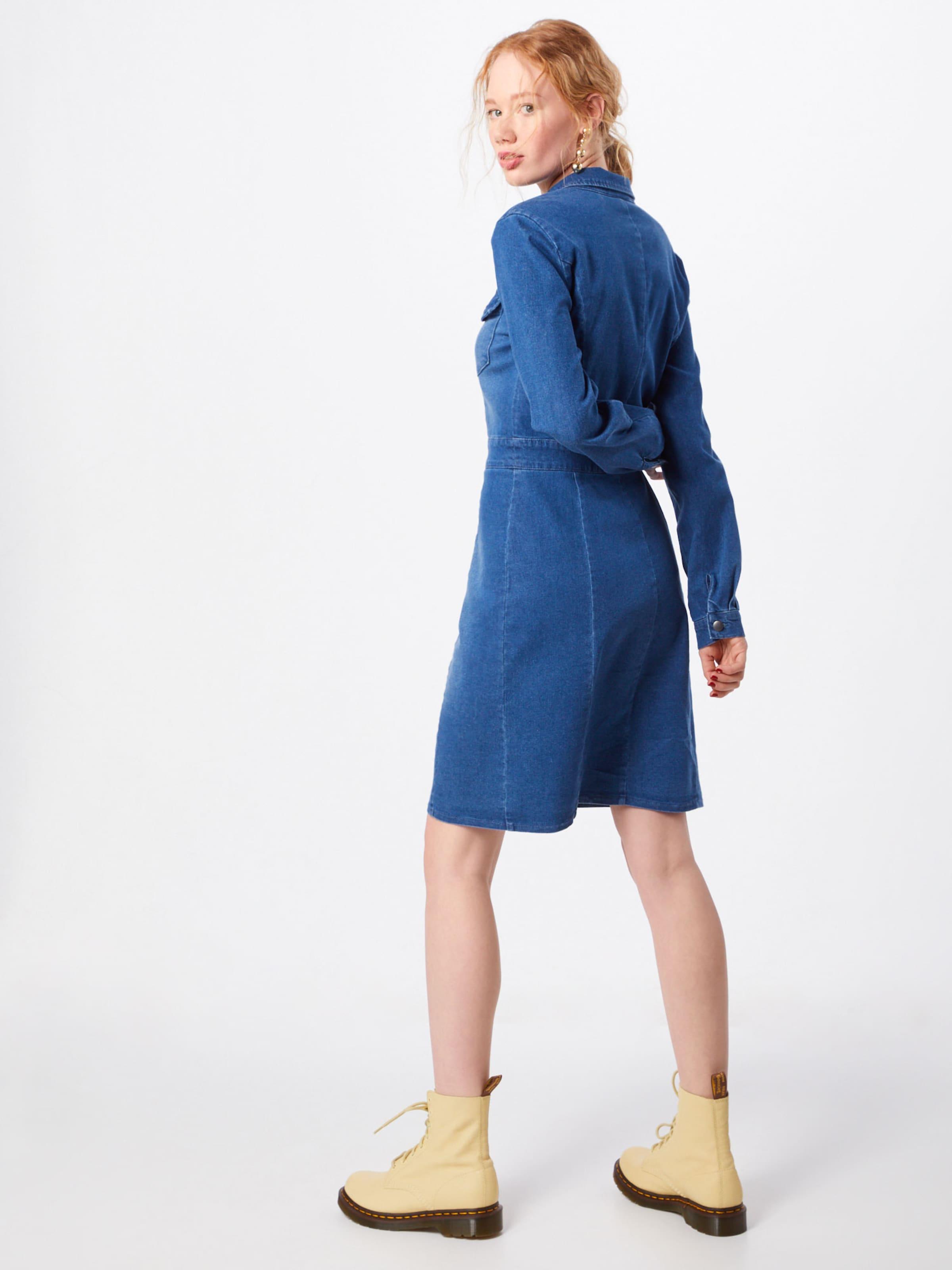 Denim En Object chemise Robe Bleu OikXZuP