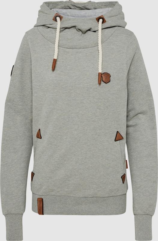 Naketano Sweatshirt in hellgrau  Neuer Aktionsrabatt