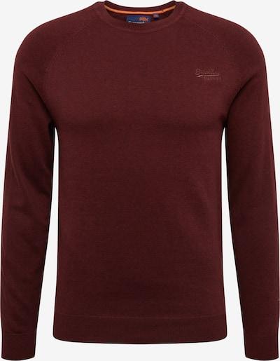 Superdry Pullover in burgunder, Produktansicht
