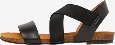 Bianco Sandalen met riem in de kleur Zwart, Productweergave