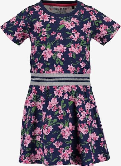 BLUE SEVEN Kleid in blau / pink, Produktansicht
