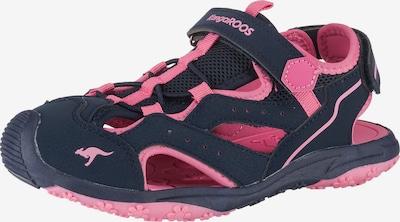 KangaROOS Outdoorsandalen 'K-Cali' in nachtblau / rosa, Produktansicht