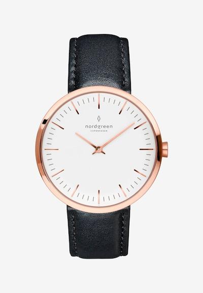 Nordgreen Armbanduhr in schwarz, Produktansicht