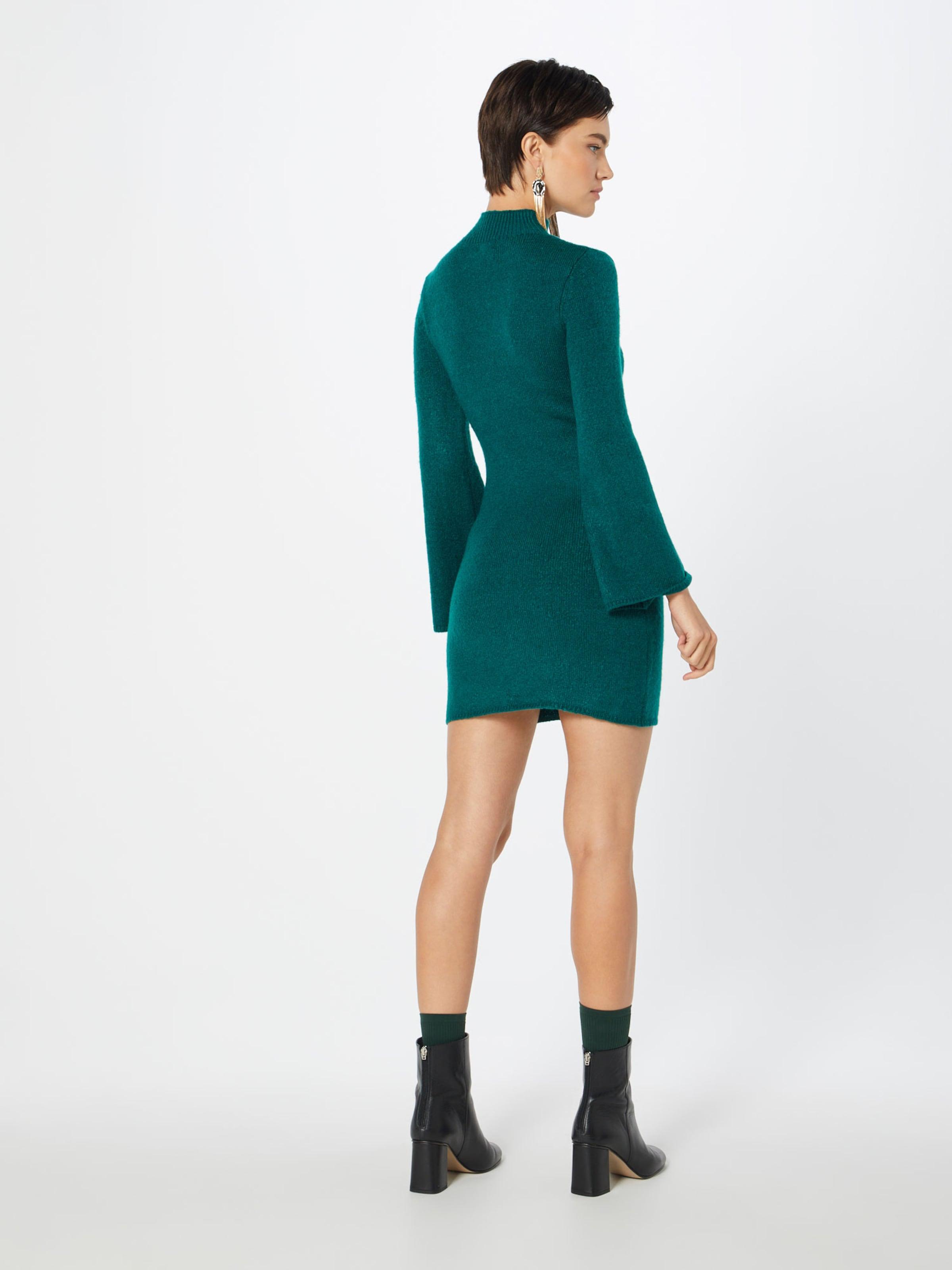 Pétrole Robes Maille Bardot 'tash' En MpqUVSz