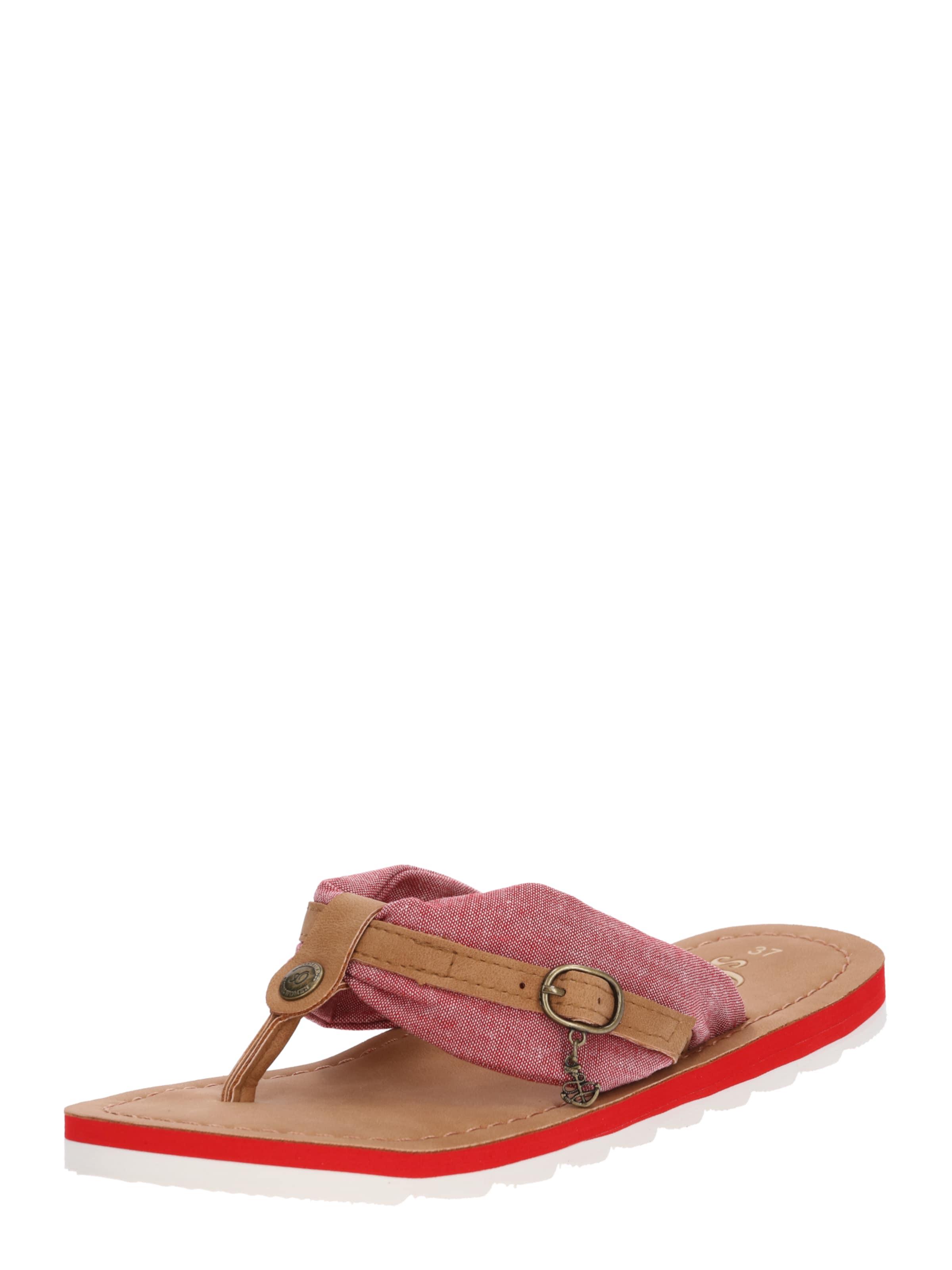 S.oliver Étiquette Rouge Brun / Rouge Bascule nD4TqOZSFP