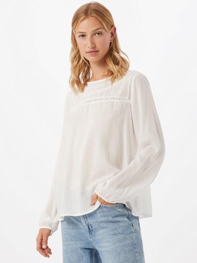 Bluză TOM TAILOR DENIM pe alb, Vizualizare model