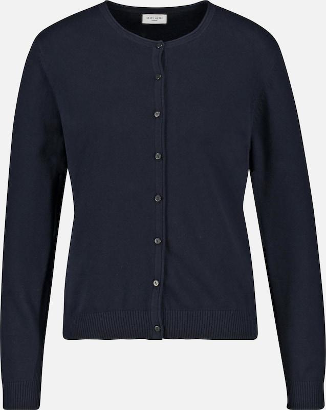 GERRY WEBER Cardigan in in in nachtblau  Mode neue Kleidung 7b2582