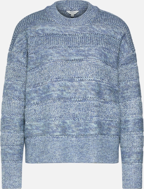 Pepe Jeans Pullover 'CHARLOTTE' in grau, Produktansicht