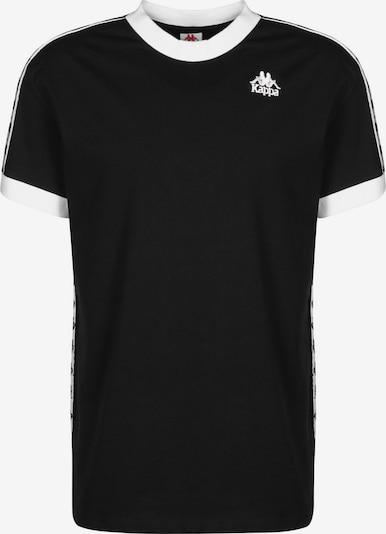 KAPPA T-Shirt '222 Banda Bismal' in schwarz / weiß, Produktansicht