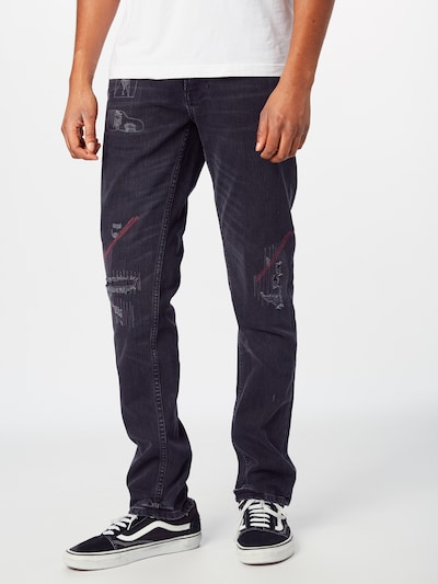 Nudie Jeans Co Jeans 'Lean Dean' in black denim, Modelansicht