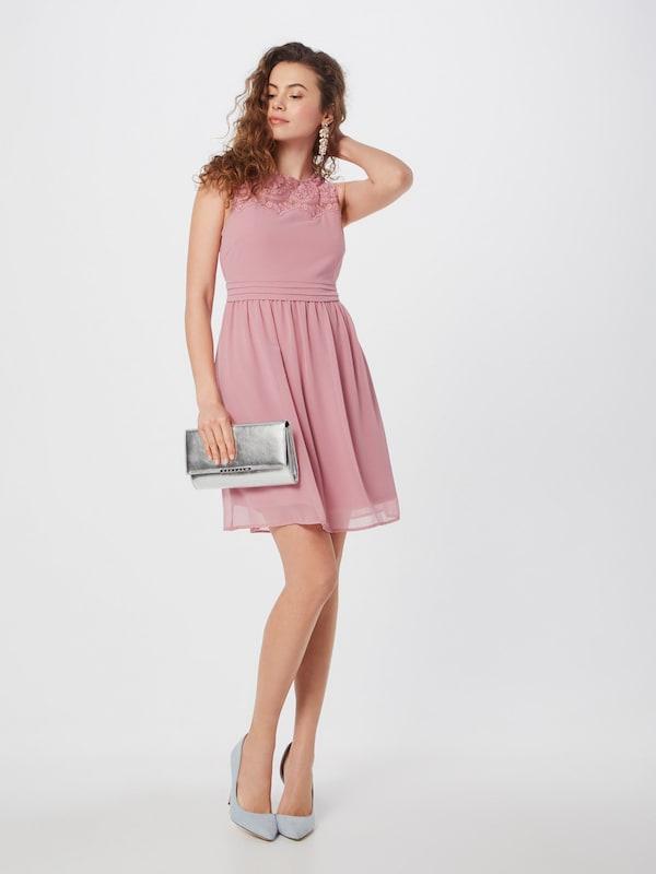 vero moda kleid 'vanessa' in rosa | about you