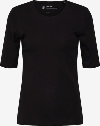 OPUS T-shirt 'daily B' en noir: Vue de face