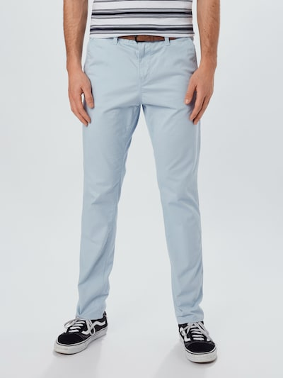 TOM TAILOR DENIM Chinohose in hellblau, Modelansicht