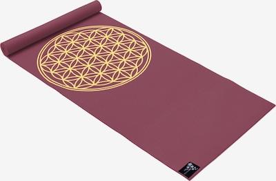 YOGISTAR.COM Yogamatte 'Basic Flower Of Life' in rot, Produktansicht