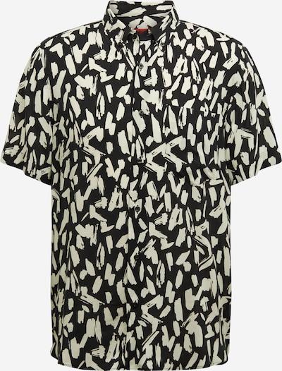 HUGO Košeľa 'Ekilio' - čierna / biela, Produkt