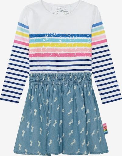 JETTE BY STACCATO Kleid in blau / mischfarben / weiß, Produktansicht