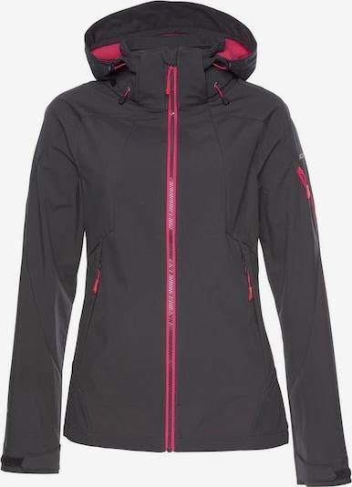ICEPEAK Zunanja jakna 'Barbado' | antracit / roza barva, Prikaz izdelka