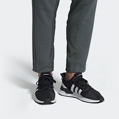 Sneaker low 'U_Path Run' ADIDAS ORIGINALS pe negru / alb: Privire frontală