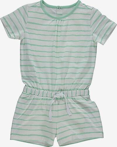 lamino Jumpsuit in grau / hellgrün, Produktansicht