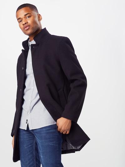 BURTON MENSWEAR LONDON Prehoden plašč | črna barva, Prikaz modela