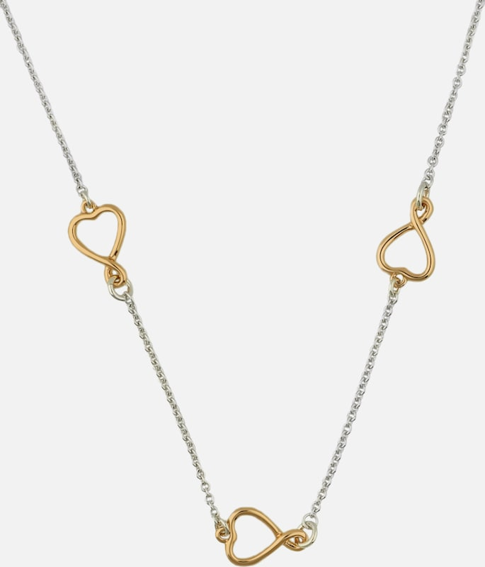 Guess Necklace Amour Ubn61058 Broken Heart-with