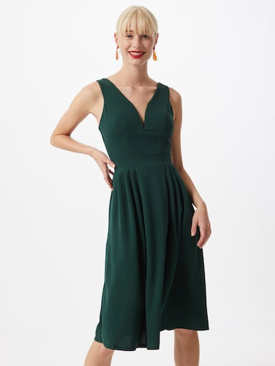 WAL G. Kleid 'WG 6275' in dunkelgrün, Modelansicht