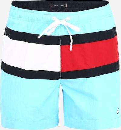 Tommy Hilfiger Underwear Plavecké šortky - tyrkysová / červené / biela, Produkt